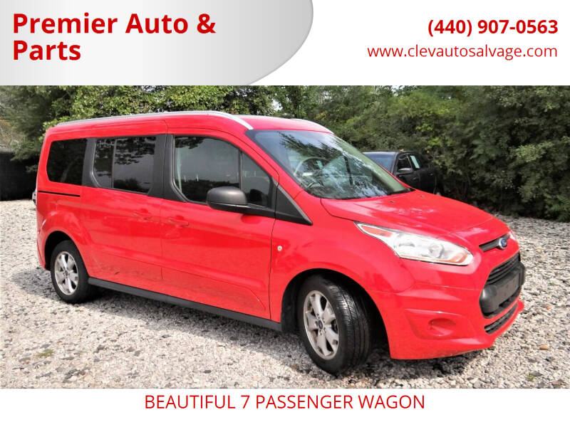 2016 Ford Transit Connect Wagon for sale at Premier Auto & Parts in Elyria OH