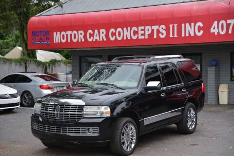 2010 Lincoln Navigator for sale at Motor Car Concepts II - Apopka Location in Apopka FL
