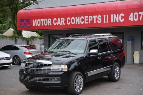 2010 Lincoln Navigator for sale at Motor Car Concepts II - Apopka Location in Apopka FL