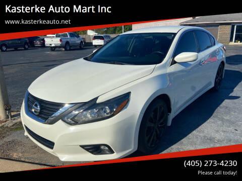 2016 Nissan Altima for sale at Kasterke Auto Mart Inc in Shawnee OK