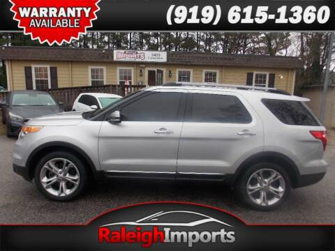 2015 Ford Explorer for sale at Raleigh Imports in Raleigh NC