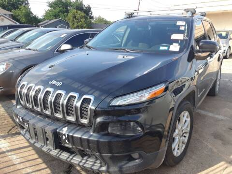 2015 Jeep Cherokee for sale at Auto Haus Imports in Grand Prairie TX
