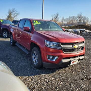 2016 Chevrolet Colorado for sale at ALL WHEELS DRIVEN in Wellsboro PA