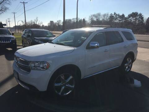 2012 Dodge Durango for sale at Premier Motors LLC in Crystal MN