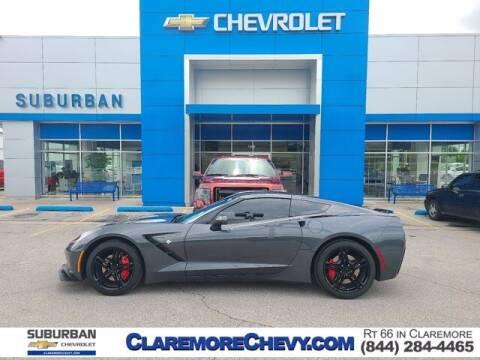 2017 Chevrolet Corvette for sale at Suburban Chevrolet in Claremore OK