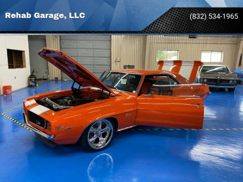 1969 Chevrolet Camaro for sale at Rehab Garage, LLC in Tomball TX
