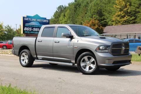 2013 RAM Ram Pickup 1500 for sale at Skyline Motors in Louisville TN