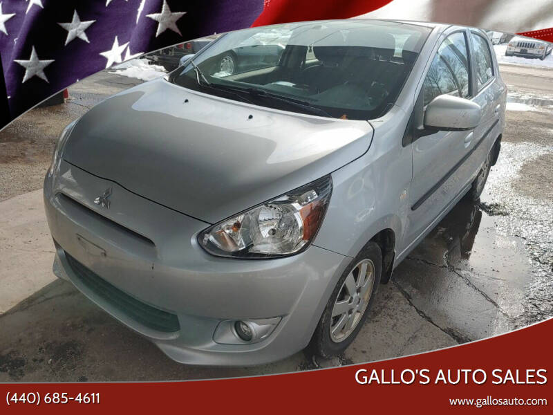 2014 Mitsubishi Mirage for sale at Gallo's Auto Sales in North Bloomfield OH