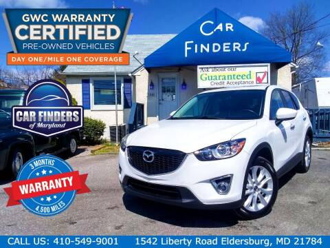 2013 Mazda CX-5 for sale at CAR FINDERS OF MARYLAND LLC - Certified Cars in Eldersburg MD