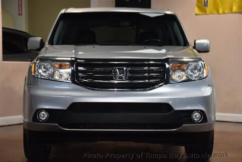 2014 Honda Pilot for sale at Tampa Bay AutoNetwork in Tampa FL