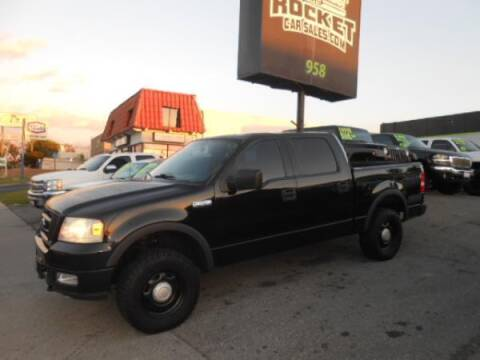 2004 Ford F-150 for sale at Rocket Car sales in Covina CA