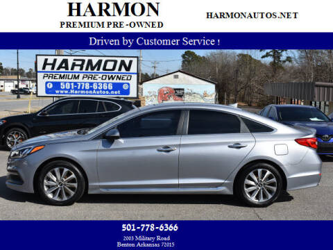 2017 Hyundai Sonata for sale at Harmon Premium Pre-Owned in Benton AR
