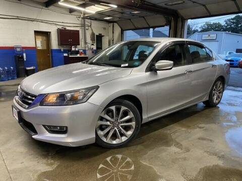 2013 Honda Accord for sale at Sonias Auto Sales in Worcester MA