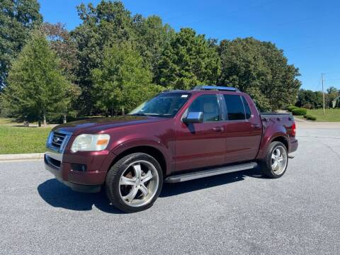 2008 Ford Explorer Sport Trac for sale at GTO United Auto Sales LLC in Lawrenceville GA