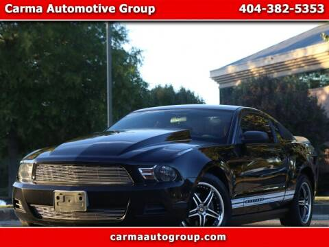 2010 Ford Mustang for sale at Carma Auto Group in Duluth GA