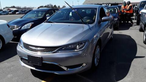2015 Chrysler 200 for sale at Franklyn Auto Sales in Cohoes NY