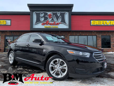 2017 Ford Taurus for sale at B & M Auto Sales Inc. in Oak Forest IL