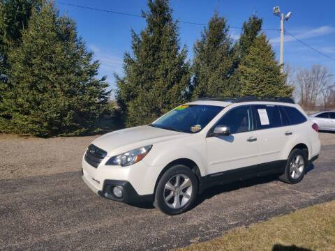 2014 Subaru Outback for sale at Carmart Auto Sales Inc in Schoolcraft MI