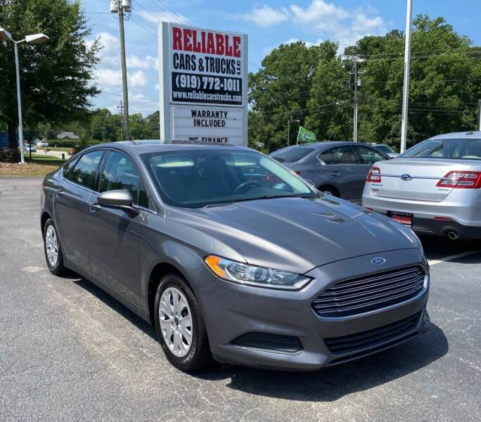 2014 Ford Fusion for sale at Reliable Cars & Trucks LLC in Raleigh NC