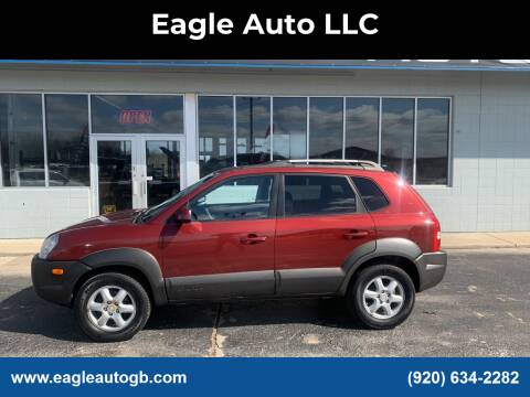 2005 Hyundai Tucson for sale at Eagle Auto LLC in Green Bay WI