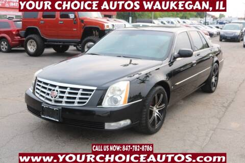 2007 Cadillac DTS for sale at Your Choice Autos - Waukegan in Waukegan IL