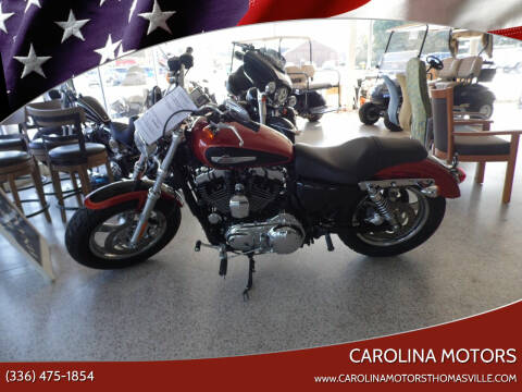 2011 Harley-Davidson XL 1200C for sale at CAROLINA MOTORS in Thomasville NC