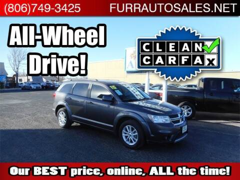 2015 Dodge Journey for sale at FURR AUTO SALES in Lubbock TX