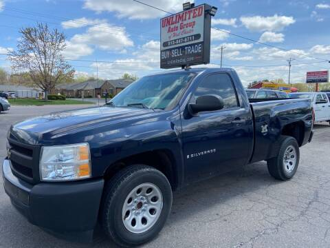 2008 Chevrolet Silverado 1500 for sale at Unlimited Auto Group in West Chester OH