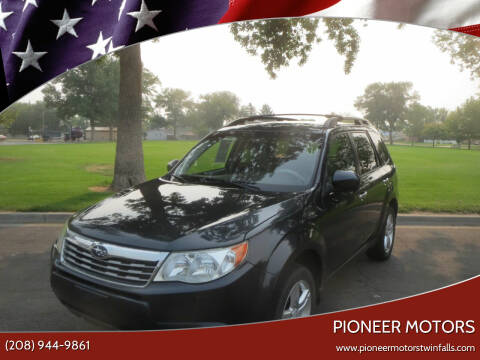 2009 Subaru Forester for sale at Pioneer Motors in Twin Falls ID