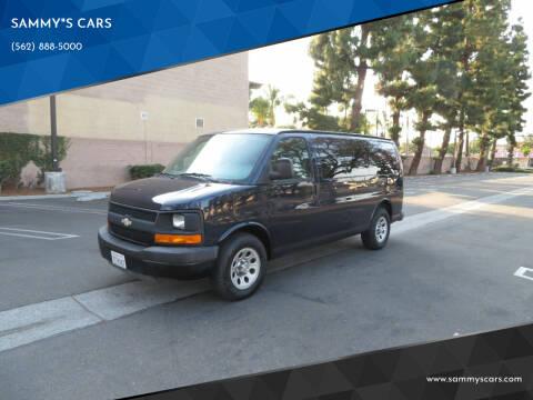 """2009 Chevrolet Express Passenger for sale at SAMMY""""S CARS in Bellflower CA"""