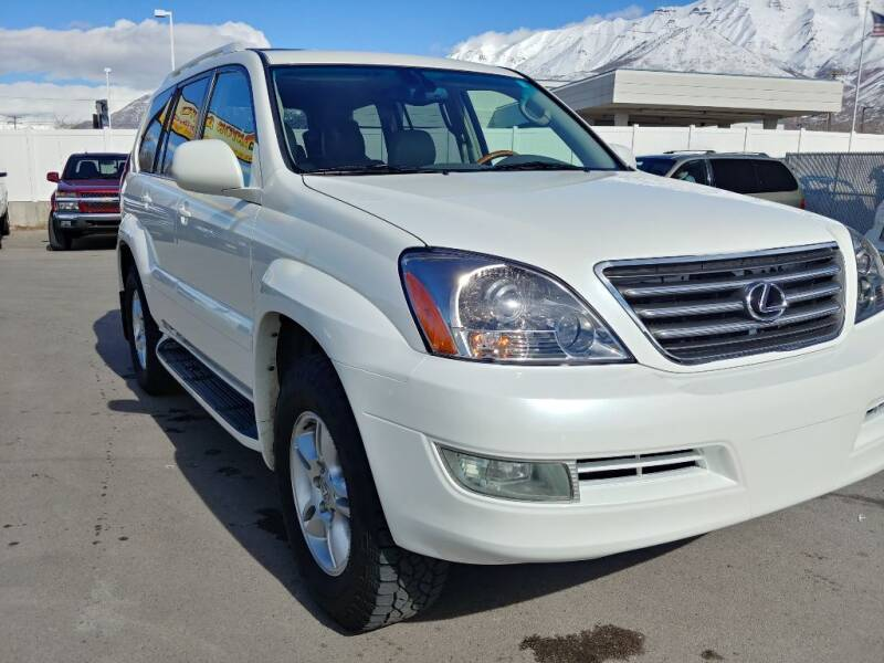2005 Lexus GX 470 for sale at Canyon Auto Sales in Orem UT
