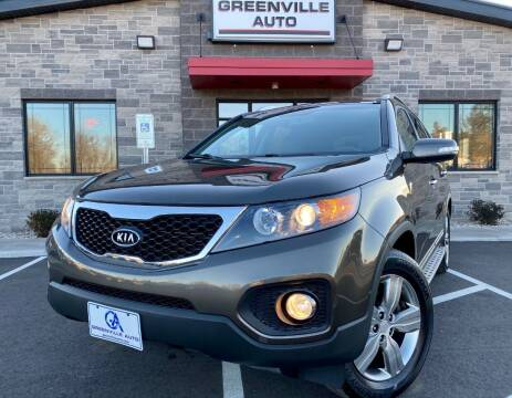 2013 Kia Sorento for sale at GREENVILLE AUTO & RV in Greenville WI