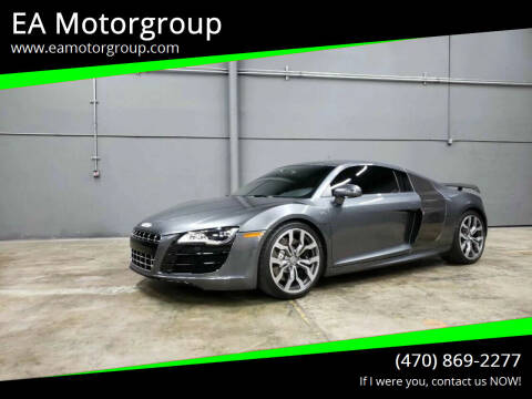 2012 Audi R8 for sale at EA Motorgroup in Austin TX
