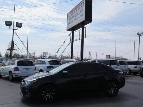 2016 Toyota Corolla for sale at United Auto Sales in Oklahoma City OK