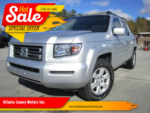 2006 Honda Ridgeline for sale at Atlanta Luxury Motors Inc. in Buford GA