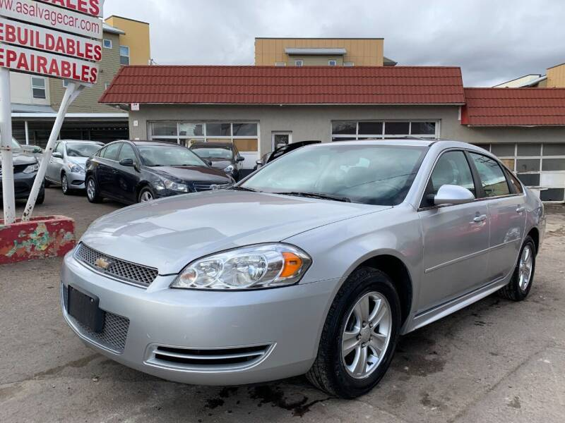 2014 Chevrolet Impala Limited for sale at STS Automotive in Denver CO