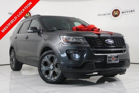 2018 Ford Explorer for sale at INDY'S UNLIMITED MOTORS - UNLIMITED MOTORS in Westfield IN