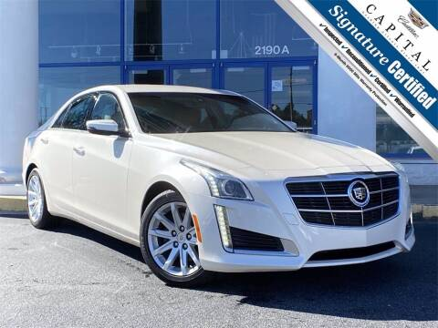 2014 Cadillac CTS for sale at Capital Cadillac of Atlanta in Smyrna GA