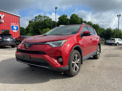 2017 Toyota RAV4 for sale at Space City Auto Center in Houston TX