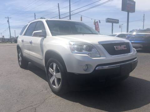2012 GMC Acadia for sale at Instant Auto Sales in Chillicothe OH