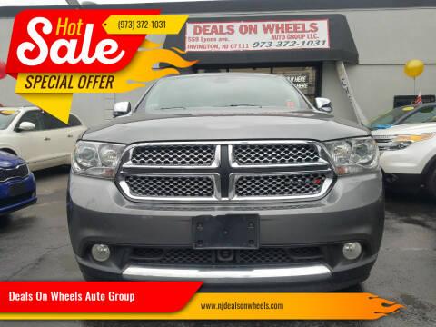 2013 Dodge Durango for sale at Deals On Wheels Auto Group in Irvington NJ