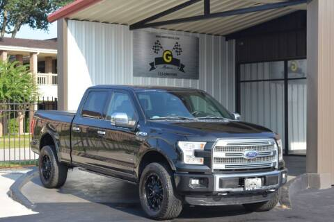 2015 Ford F-150 for sale at G MOTORS in Houston TX