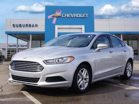 2016 Ford Fusion for sale at Suburban Chevrolet of Ann Arbor in Ann Arbor MI