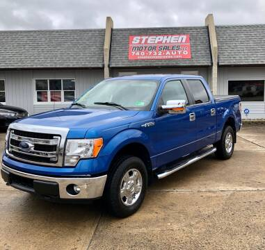 2014 Ford F-150 for sale at Stephen Motor Sales LLC in Caldwell OH