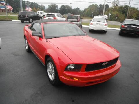 2007 Ford Mustang for sale at Morelock Motors INC in Maryville TN