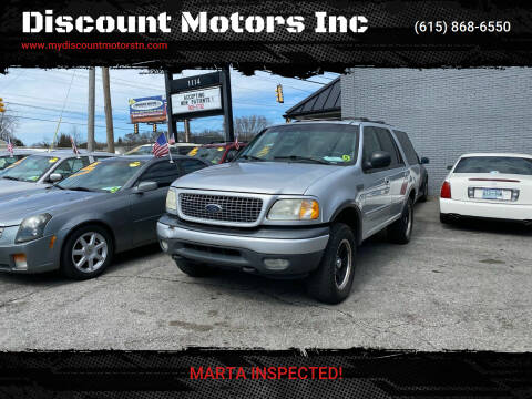 2000 Ford Expedition for sale at Discount Motors Inc in Madison TN
