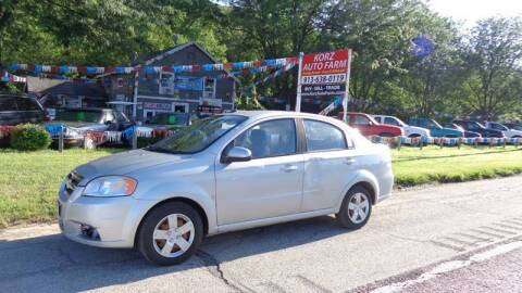 2009 Chevrolet Aveo for sale at Korz Auto Farm in Kansas City KS