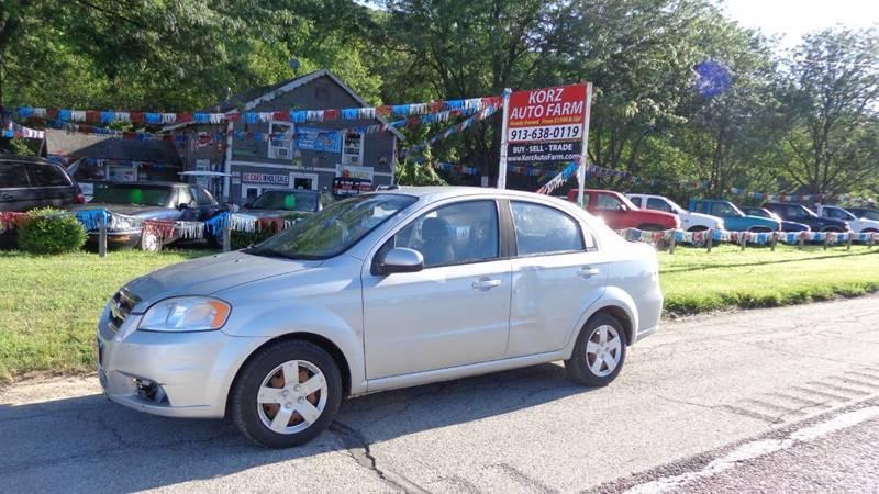 2009 Chevrolet Aveo for sale at Korz Auto Farm in Kansas City KS