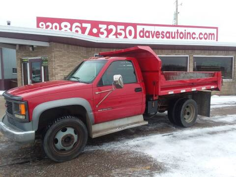 1997 GMC Sierra 3500 for sale at Dave's Auto Sales & Service in Weyauwega WI