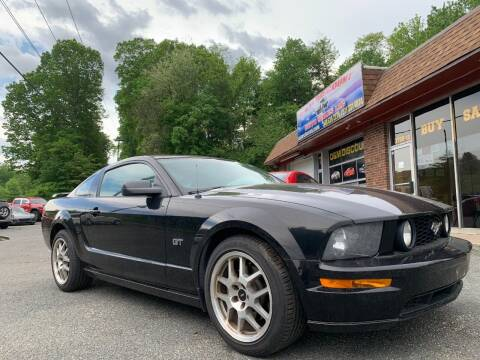 2006 Ford Mustang for sale at D & M Discount Auto Sales in Stafford VA